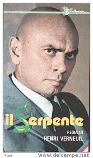 IL SERPENTE -  VHS - Dramma