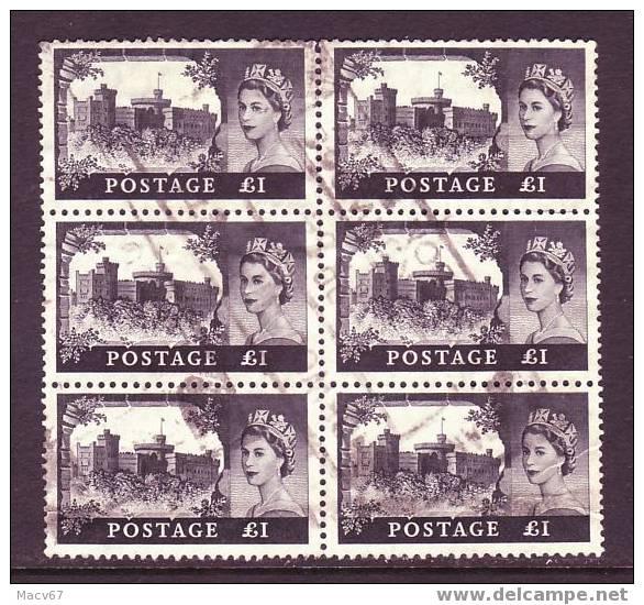 Great Britian 374 X 6   (o) - 1952-.... (Elizabeth II)
