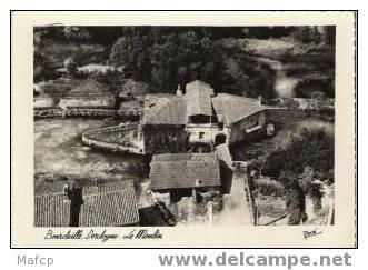 BOURDEILLE (F) Le Moulin - Molinos De Agua
