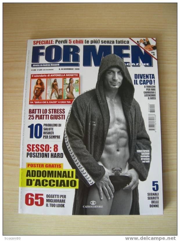 For Men N° 44 - Antonella Mosetti Sexy - Gezondheid En Schoonheid