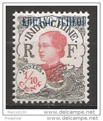 Kouang-Tchéou N°52-53-97-125 * - Unused Stamps