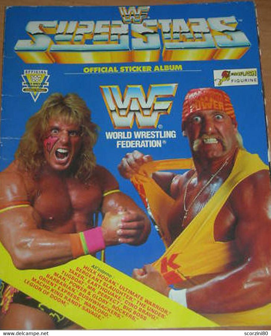 WWF World Wrestling Federation Superstars Figurine Album EUROFLASH Mancolista - Altri