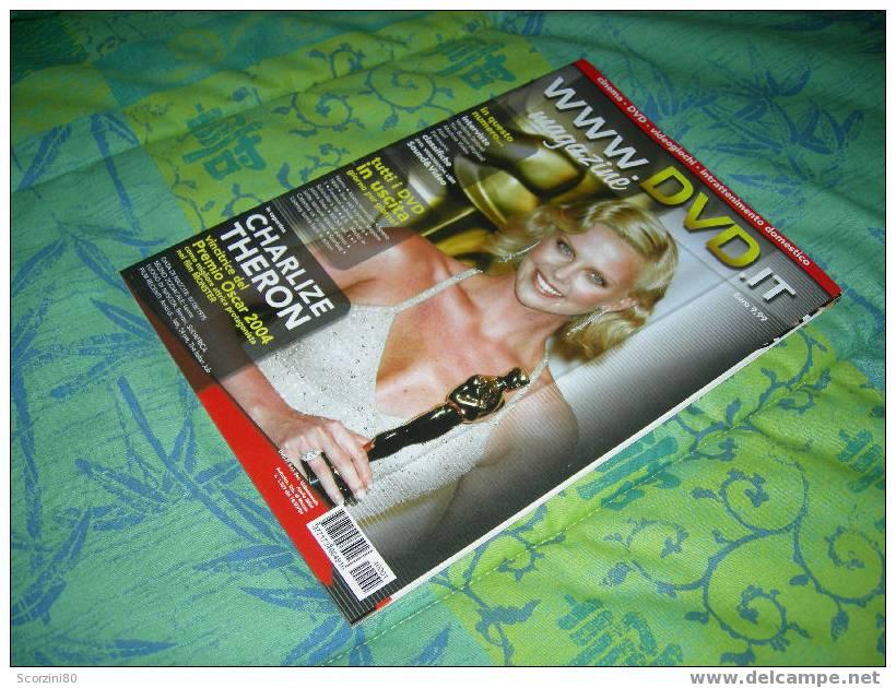 Www.dvd.it Magazine N° 1 (2004) Charlize Theron - Zeitschriften