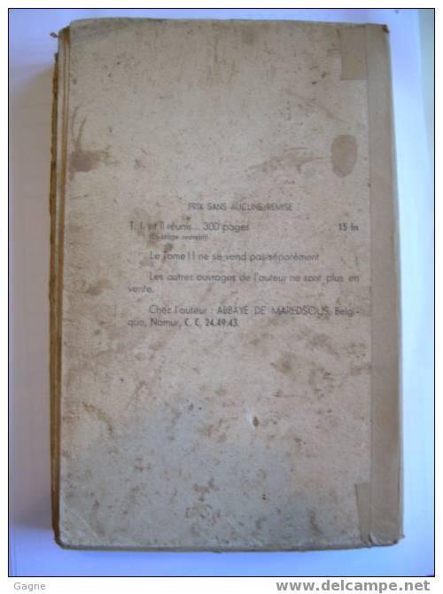 Fonta5 - Souvenirs D'idéals Lys, Roses, Flaurs D'hivers Abbaye De Maredsous Des Champs Et Jardinett's Du Divin Amour1935 - Christianisme