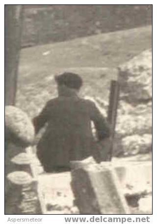 CONSTANTINOPLE CONSTANTINOPLA CEMENTERIO CEMETERY TURQUIA FEBRERO 1930 RARISIME TRES BELLE PHOTO ANIMEE 17 X 12 CM TBE - Turchia