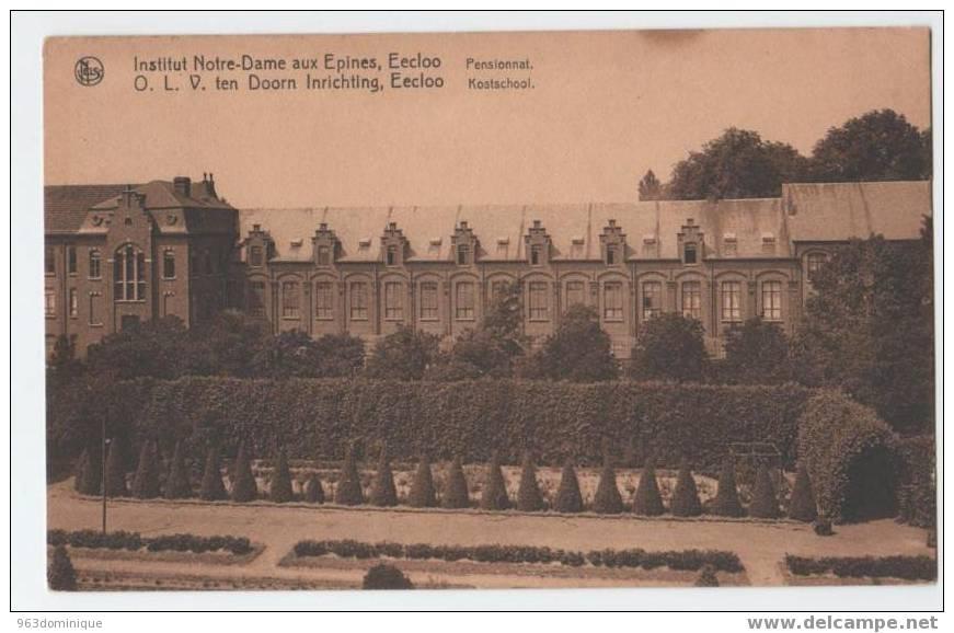 Eecloo Kostschool - Postkaart - Eeklo