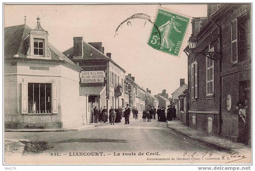 LIANCOURT(60) / La Route De Creil / Animation - Liancourt