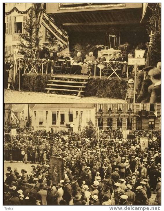 Philippeville -Le Congrès Marial Du 7 Juillet 1935 - 2 Cartes - Philippeville