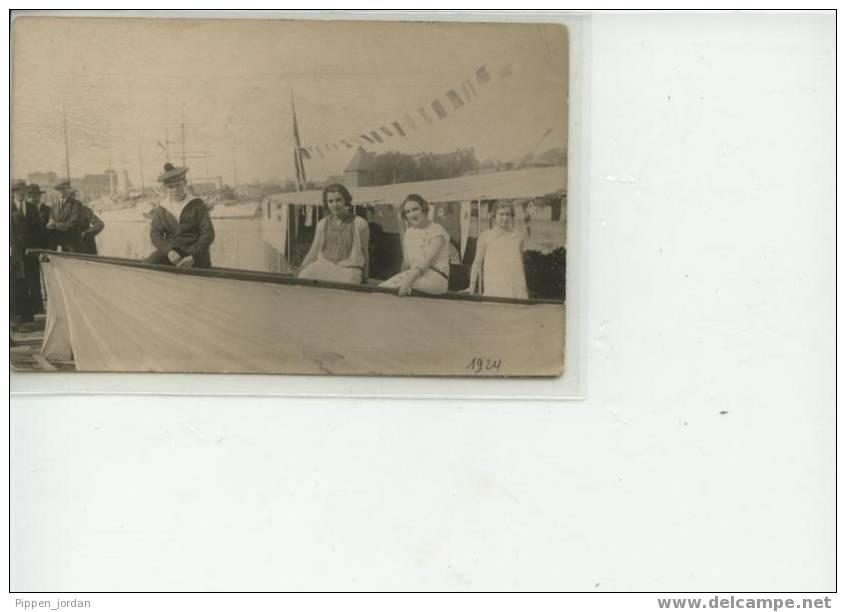 14 DEAUVILLE  **Belle Carte Photo Animée écrite En 1924** - Deauville