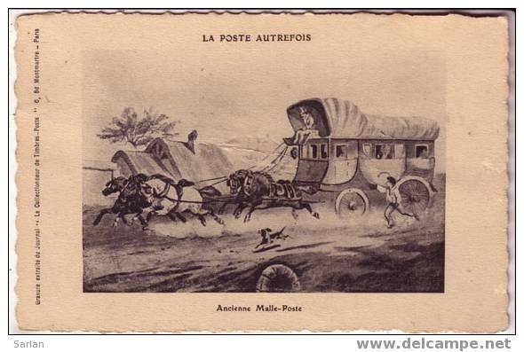 PTT  , La Poste Autrefois , Ancienne Malle Poste - Post & Briefboten