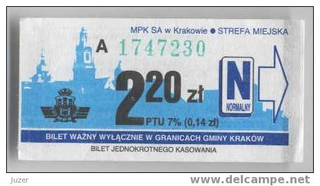 Poland: One-way Tram & Bus Ticket From Krakow - Europe