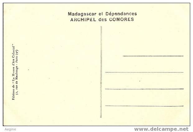 Ref No 20-  Comores - Anjouan- Vue Generale De Mutsamudu - Bon Etat - Comoren