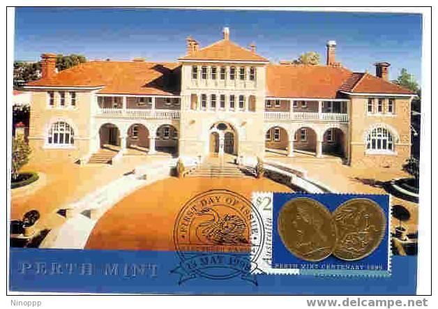 Australia-1999 Perth Mint Maximum Card - Maximum Cards
