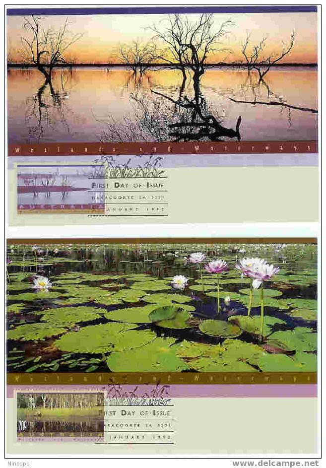 Australia-1992 Wetlands Set Two Maximum Card - Maximum Cards