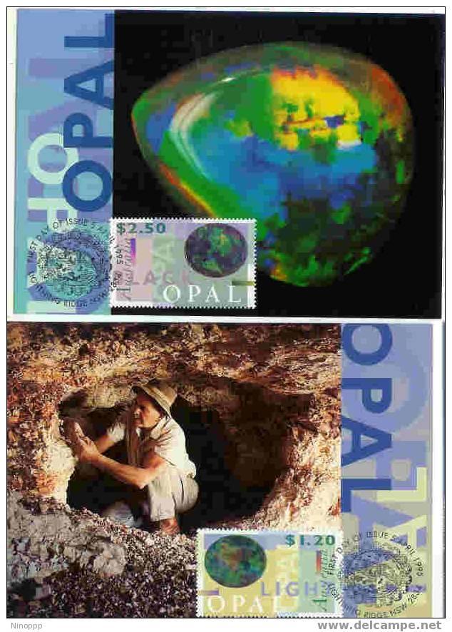 Australia-1995 Opals Set 2  Maximum Cards - Maximum Cards