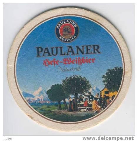 Germany: PAULANER Beer Coaster (3) - Sous-bocks