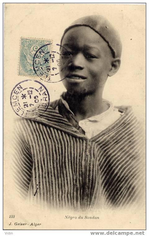 NEGRO DU SOUDAN - Sudan