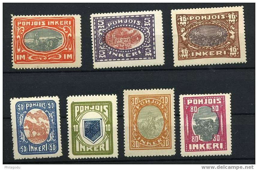 INGRIE 1920  Série 8-14 Neuve SANS Charnière  LUXE Cote YV: 120 Euros  VACHE  Agriculture - Finland