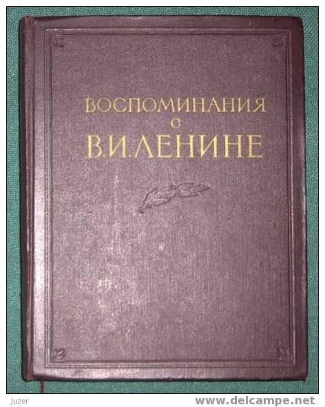 Russian Books: Reminiscences About Lenin - Livres, BD, Revues