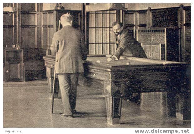 BILLARD : AUTRICHE / AUSTRIA - SANATORIUM GRIMMENSTEIN - SPIELZIMMER / SALLE De JEUX - ANNÉE / YEAR ~ 1912 (y-631) - Neunkirchen