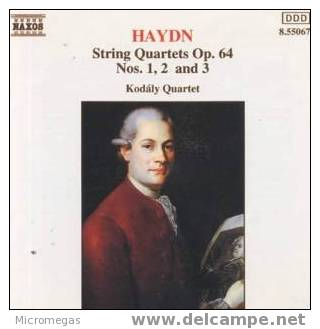 Haydn : 6 Quatuors Op.64. Kodaly Quartet - Classique
