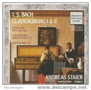 Bach : Clavierübung I & II, Staier - Classique