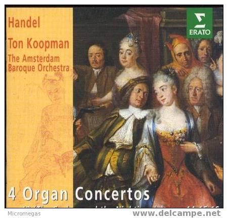 Haendel : 4 Concertos Pour Orgue - Classique