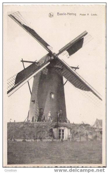 BAARLE HERTOG MOLEN H LOOTS (MOULIN) BEAU PLAN - Baarle-Hertog