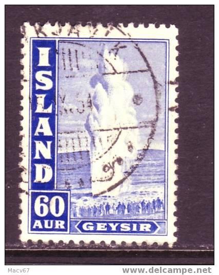 Iceland 208ac  (o)  Perf 11 1/2 - 1918-1944 Autonomous Administration