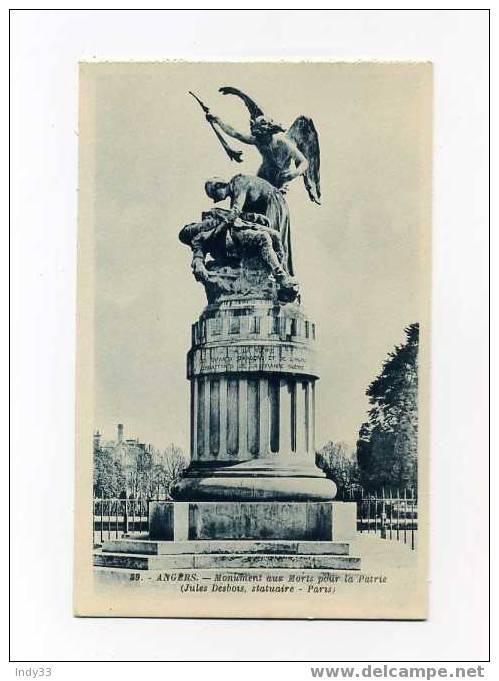 - ANGERS - MONUMENT AUX MORTS POUR LA PATRIE - Monuments