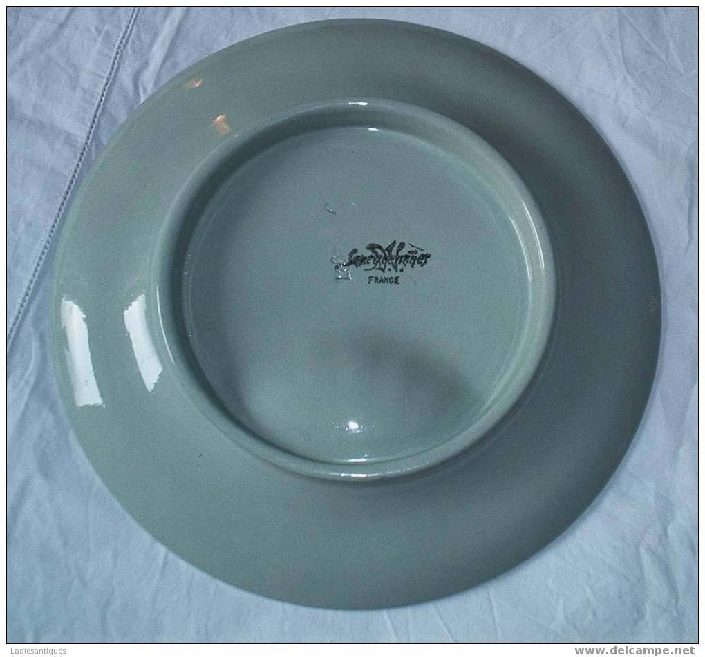 Sarreguemines Vieille Assiette - Oud Bord - Old Plate  - AS 1593 - Sarreguemines (FRA)