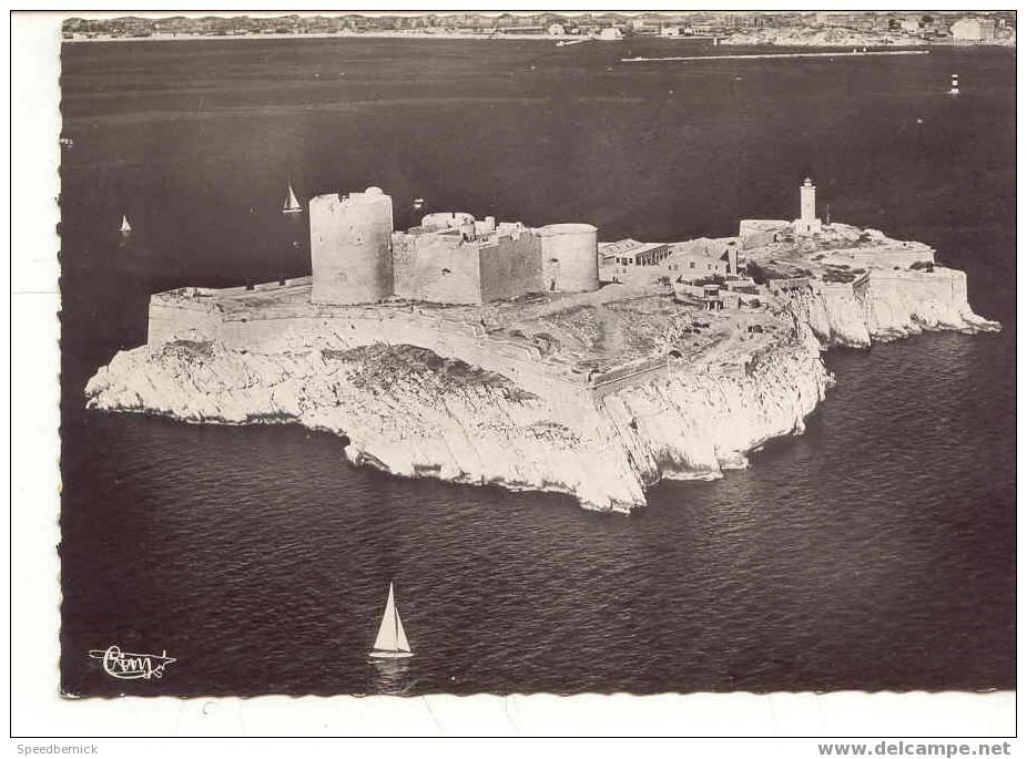 5573 Marseille Vue Aérienne L'ile Chateau D'If 105 CIM - Château D'If, Frioul, Iles ...