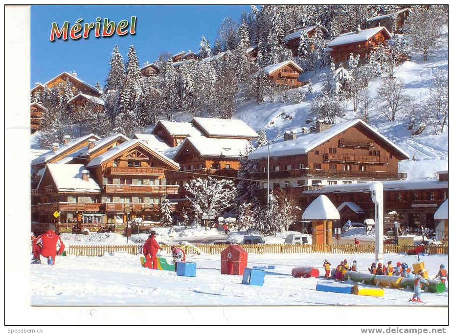 5556 Méribel Les Allues Cellard Enfant Sport D'hivers - France