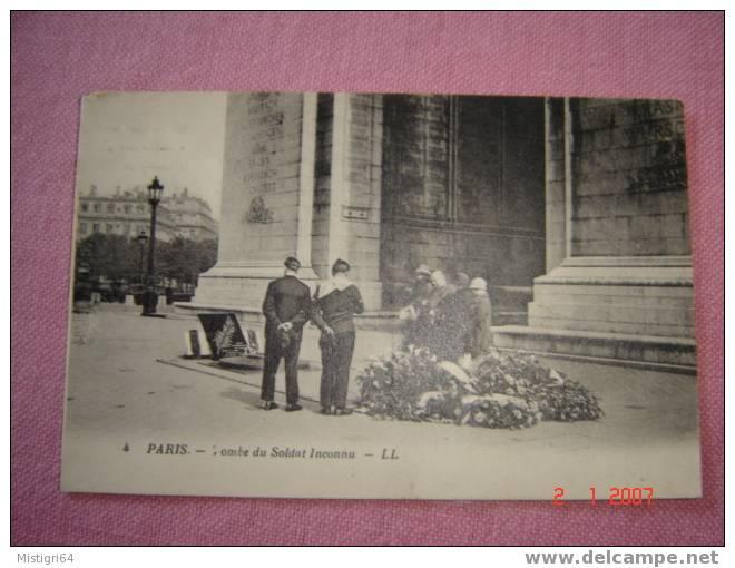 PARIS - TOMBE DU SOLDAT INCONNU - Monuments