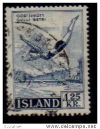 ICELAND   Scott   #  288   F-VF USED - 1944-... Republic