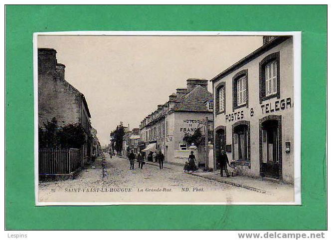 SAINT VAAST LA HOUGUE -- La Grande Rue N° 86 - Saint Vaast La Hougue