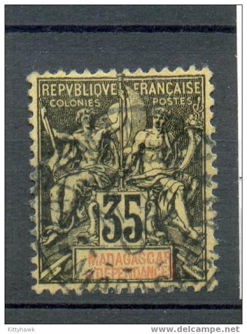 Mada 110 - YT 46 Obli - Madagascar (1889-1960)