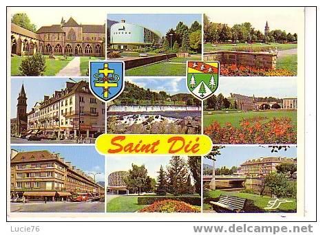 SAINT DIE  -   9 Vues Et  2 Blasons - Saint Die