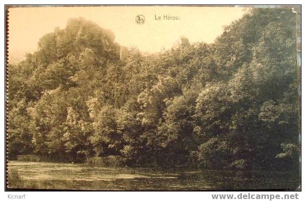 """CP De LE HEROU """" Le Hérou"""" . - La-Roche-en-Ardenne"""