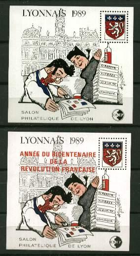 France Bloc CNEP - N° 10/11  - 1989 -  Lyon - CNEP