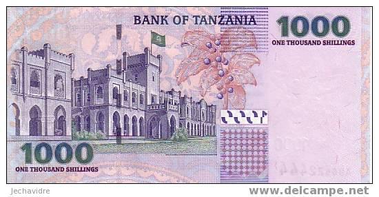 TANZANIE   1 000 Shillings   Non Daté (2003)   Pick 36     ***** BILLET  NEUF ***** - Tanzanie