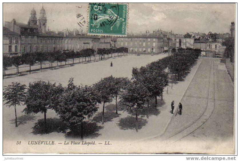 Lunéville  La Place Léopold - Luneville