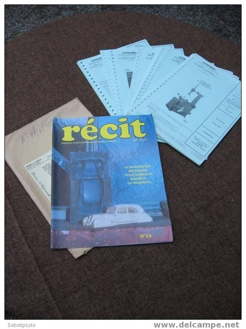 Publication 1977 Citroen Teghnique Revue Récit - Auto/Moto
