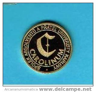 REPUBLICA CHECA  7 Medallas UNIVERSIDAD DE PRAGA  S/C  UNC  DL-263 - República Checa