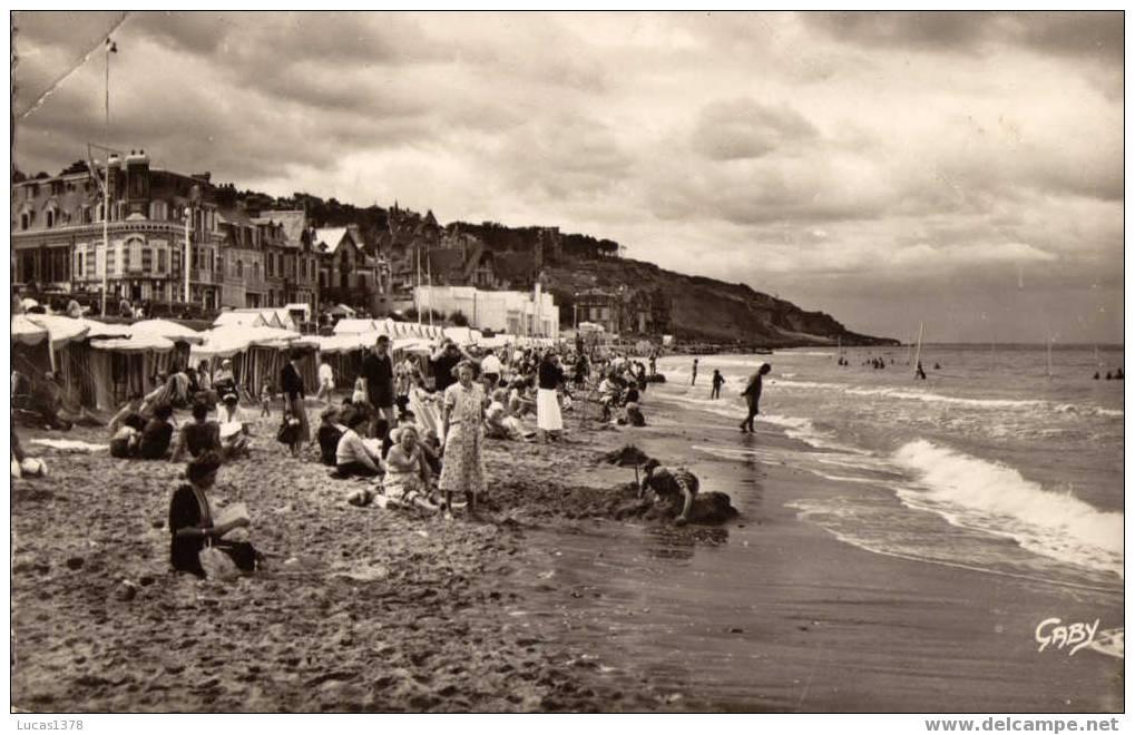 14 / VILLERS SUR MER / LA PLAGE  /  CPSM 1955 - Villers Sur Mer