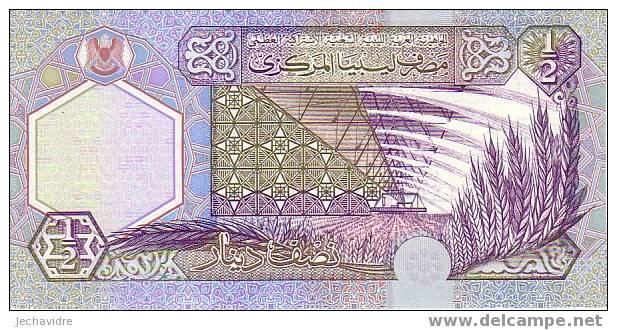 LIBYE   1/2 Dinar   Non Daté (2002)   Pick 63     ***** BILLET  NEUF ***** - Libya