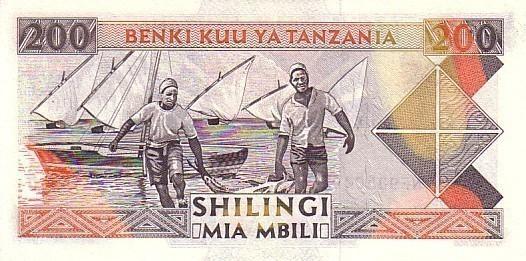 TANZANIE   200 Shillingi   Non Daté (1993)    Pick 25b Signature 11    ***** BILLET  NEUF ***** - Tanzanie