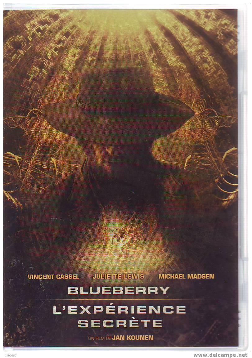 DVD BLUEBERRY VF (traces Sur CD Mais Passe Très Bien) - Ciencia Ficción Y Fantasía