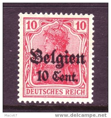 Belgium German Occupation N 14  * - WW I