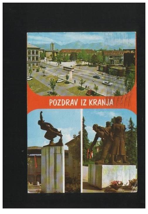 KRANJ Postcard SLOVENIA - Slovenia